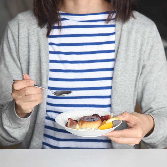 波佐見焼 北欧食器 和食器 おしゃれ natural69 ZUPA white 取皿 プレート 手持ち