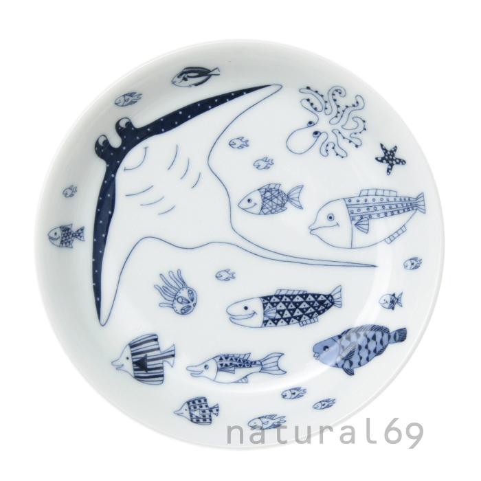 波佐見焼 北欧食器 和食器 おしゃれ natural69 cocomarine 小皿