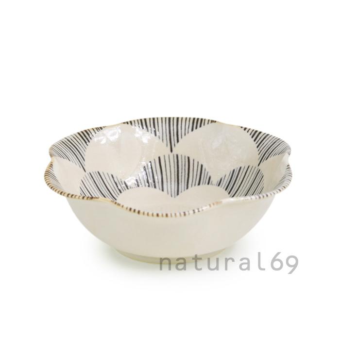 波佐見焼 北欧食器 和食器 おしゃれ natural69 粉引釉 小鉢
